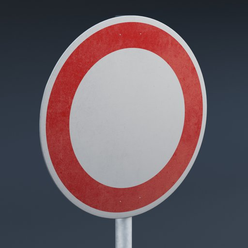 Thumbnail: European Traffic Sign 01