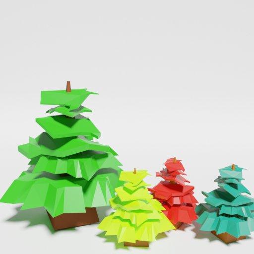 Thumbnail: Low Poly Pine 2