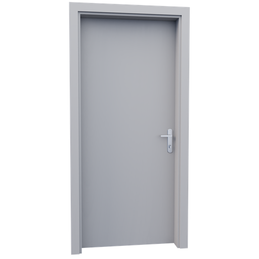 Thumbnail: Internal wooden door - Waite - 90 cm