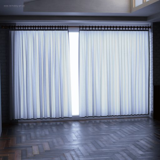 Curtain with rings