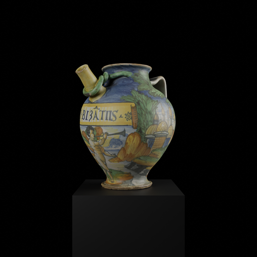 Thumbnail: Apothecary vessel for Byzantine syrup