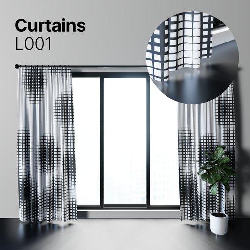 Thumbnail: Curtains L001