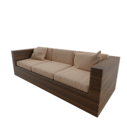 Thumbnail: Couch fiber seat three