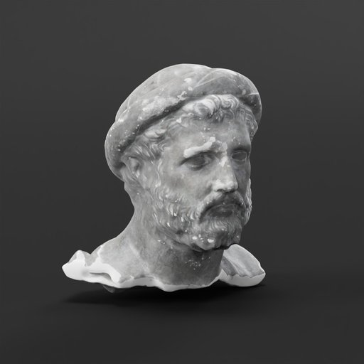 Thumbnail: Bust of a Man with hat