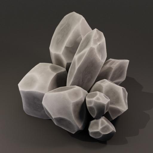Thumbnail: Stylized Rock Pile