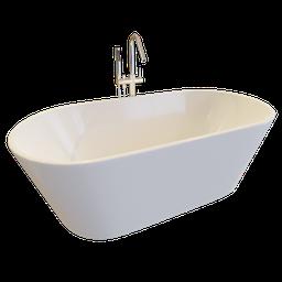 Thumbnail: Bathtub Sanycces Torino w. Faucet Nira
