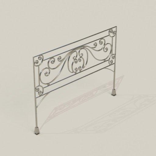 Thumbnail: Steel Bedstead
