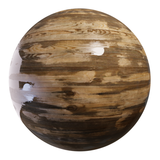 Thumbnail: Wooden planks - wet
