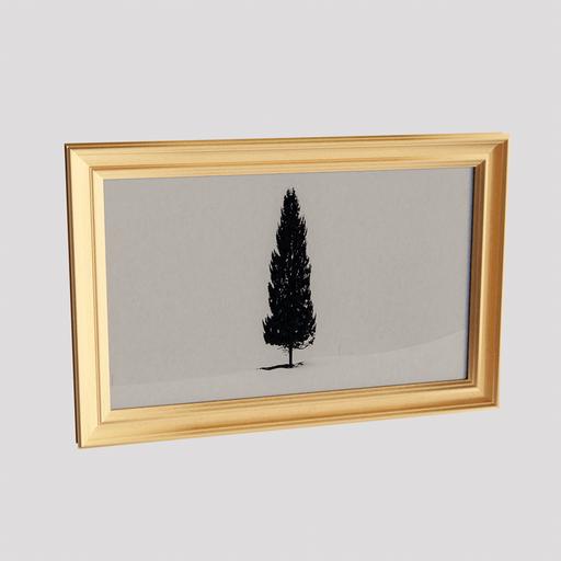 Wall Picture Fieldtree