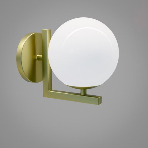 Thumbnail: Globe wall lamp