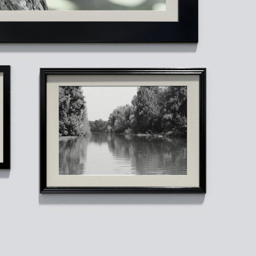 Photo frame 'anyframe' with a river