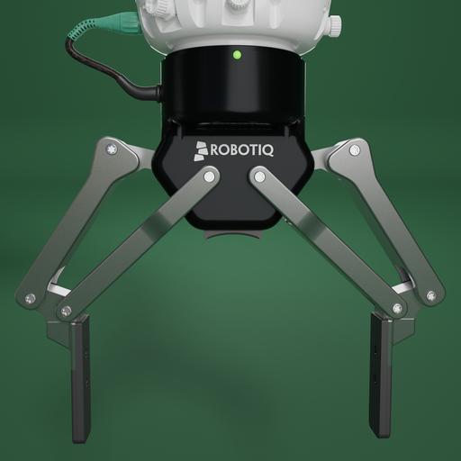 ROBOTIQ 2F140 robot two finger gripper.