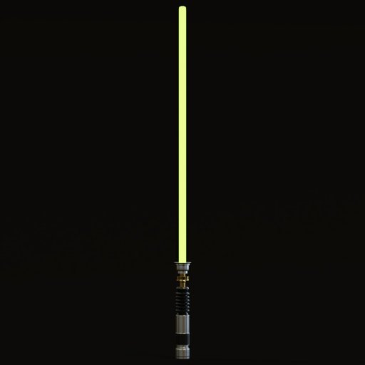 Thumbnail: Lightsaber green
