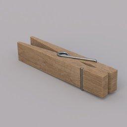 Thumbnail: wooden clothes peg