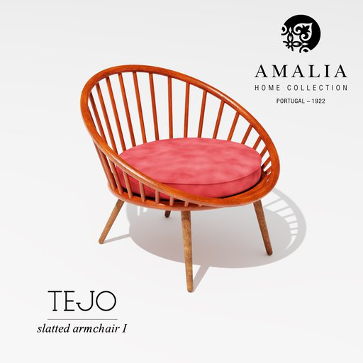 Thumbnail: AMALIA TEJO slatted chair I