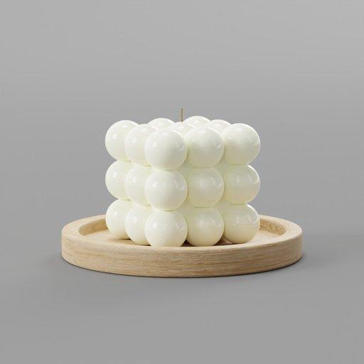 Thumbnail: Rubicks Spheres Candle Display