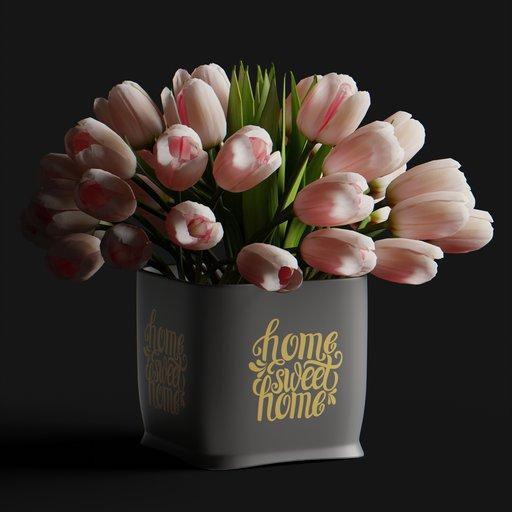 Thumbnail: Tulip flower pink