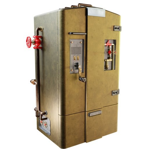Thumbnail: Steampunk Fridge