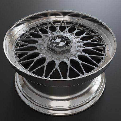 Thumbnail: 17x8,5 Style 5 Cross Spoke Wheel