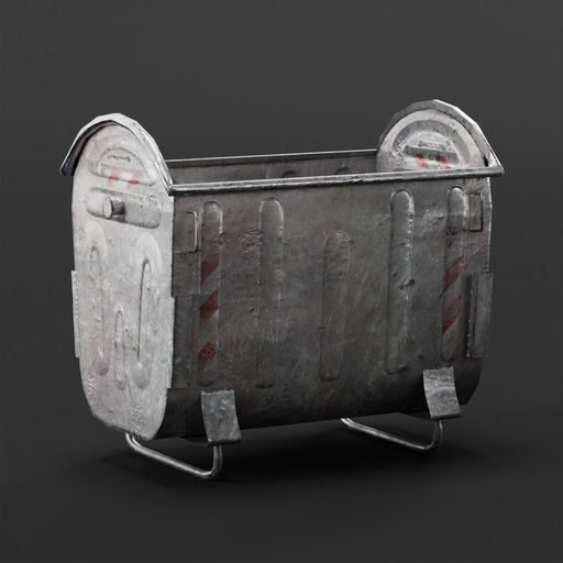 Trash container  exterior pack