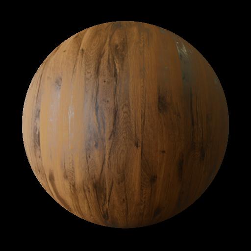 Thumbnail: Oak fine wood PBR texture seamless