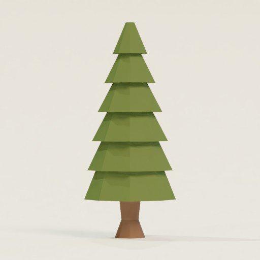 Thumbnail: Lowpoly Tree