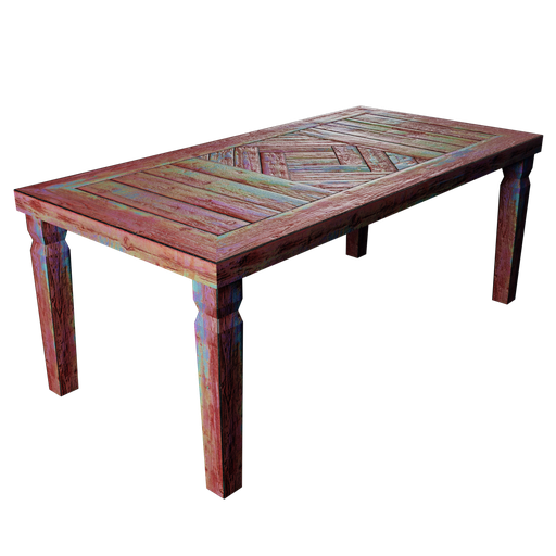 Thumbnail: Rustic Table - Colorful