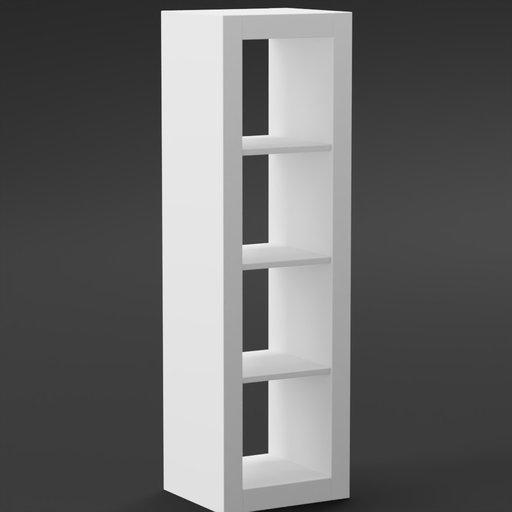 Thumbnail: IKEA style Shelf with 4 subjects