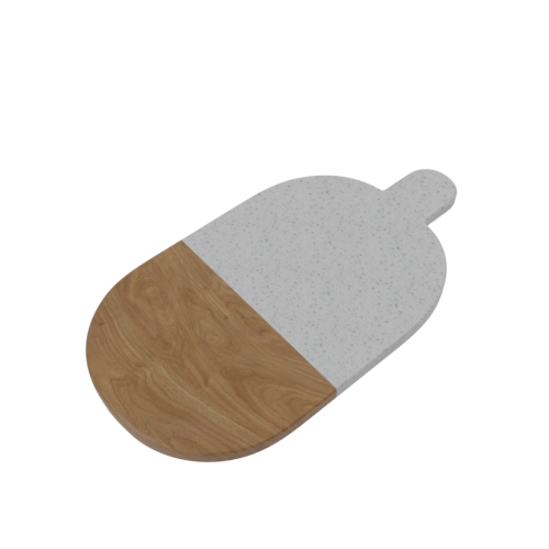 Thumbnail: Stone and Wood Cutting Board