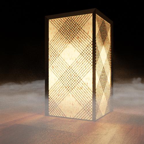Crisscross Lamp