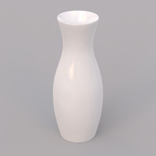 Thumbnail: small white porcelain vase
