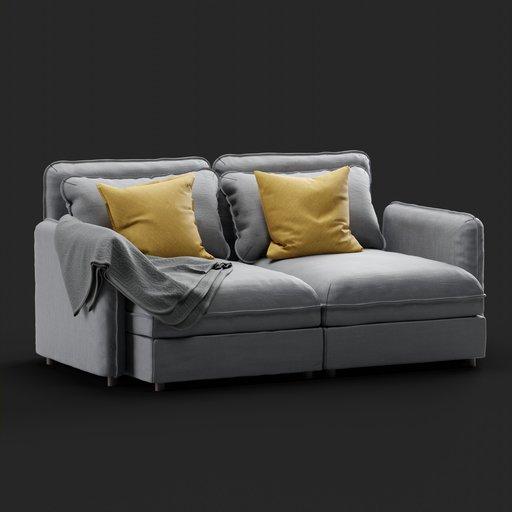 Thumbnail: Vallentuna sofa 2 seat