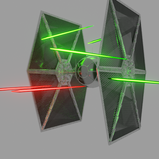 Thumbnail: Tie fighter