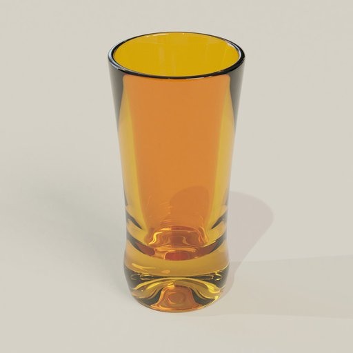 Thumbnail: Vodka glass red