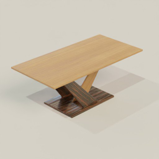 Thumbnail: Coffee Table 120 x 60 x 47