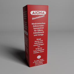 Thumbnail: Ajona toothpaste package