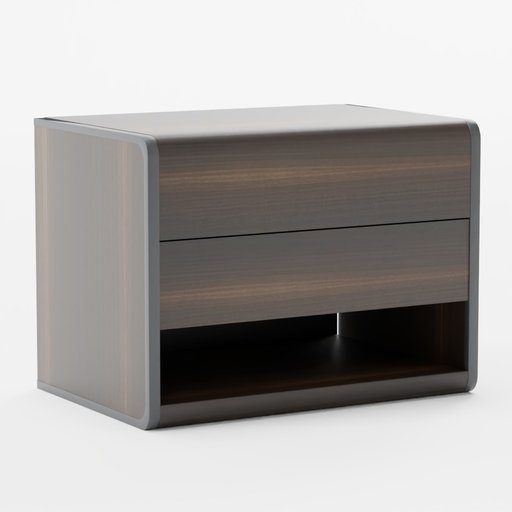 Arc bedside table
