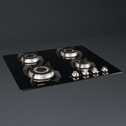 Thumbnail: Gas Plate - Amica PG64113SR