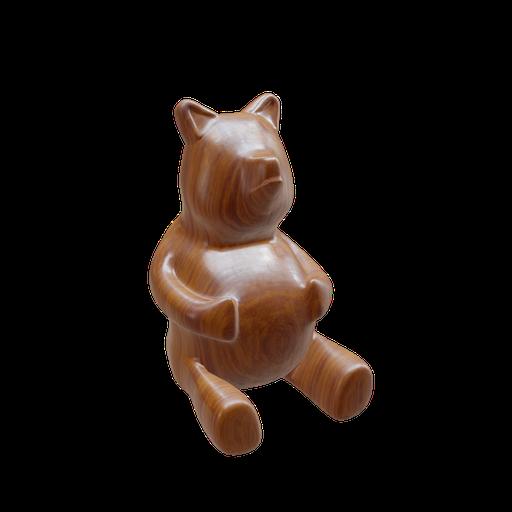Thumbnail: WoodenFigurine(Bear)