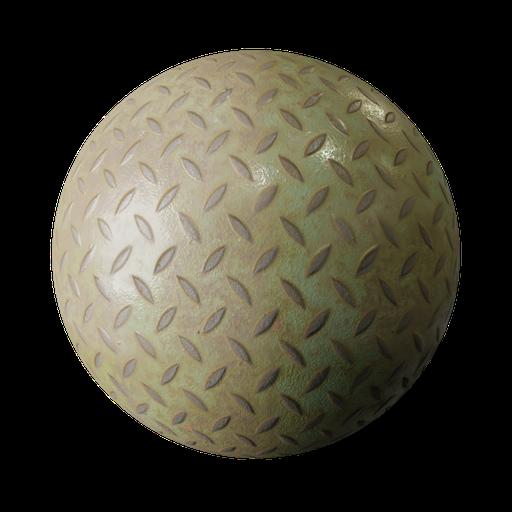 Thumbnail: Rusty metal floor