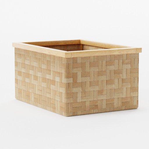 Thumbnail: Bamboo basket