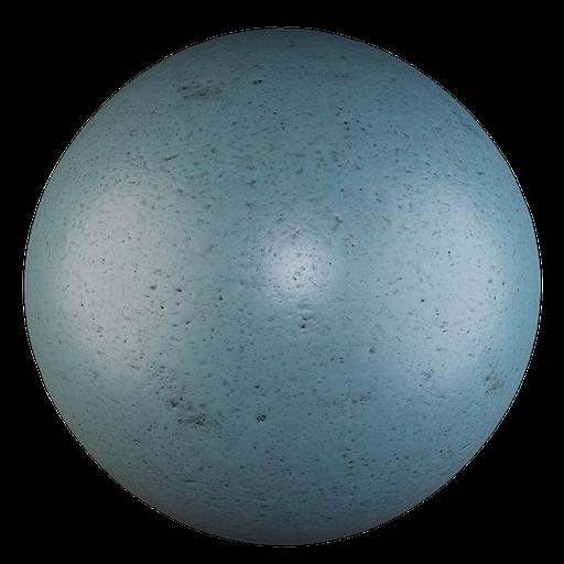 Thumbnail: Old blue plastic
