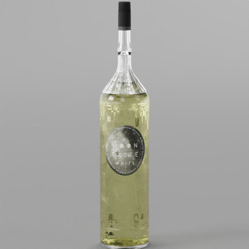 Thumbnail: Moontaste White Wine Bottle