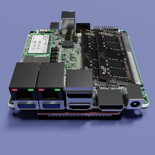 Thumbnail: ASROCK Industrial Motherboard 4X4-V1000M