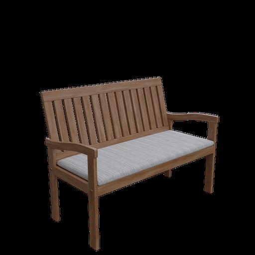 Thumbnail: Armchair wooden 3 seater