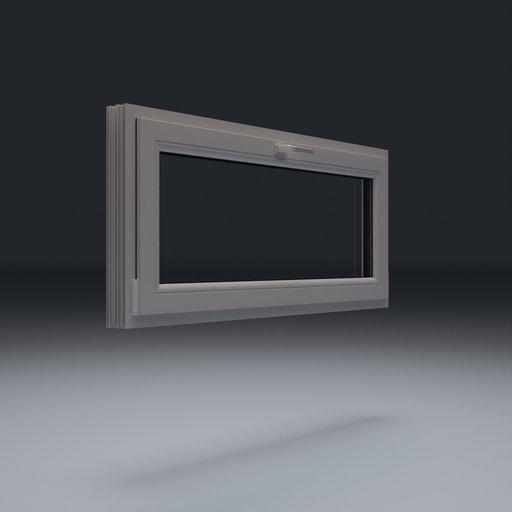 Thumbnail: Plastic Window 155x70 cm