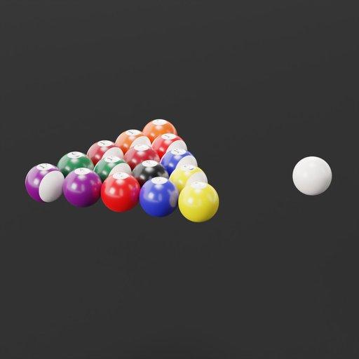 Thumbnail: Billiard Ball set