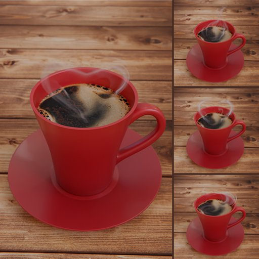 Thumbnail: Coffee Mug + Love