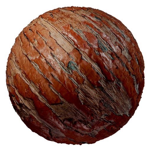 Thumbnail: Old painted wood