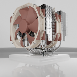 Thumbnail: CPU cooler Noctua NH-D15.